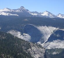 Panoramic View of Yosemite Valley by Laurie Puglia