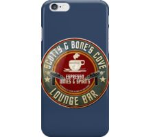 SCOTTY AND BONE'S COVE VINTAGE SIGN iPhone Case/Skin