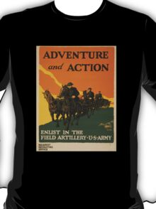 Adventure and Action (Reproduction) T-Shirt