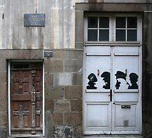 Rue des Petits Degrés jadis rue de la Piedevacherie by Pascale Baud