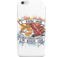 Give Me All Of The Bacon & Eggs You Have. iPhone Case/Skin