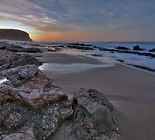 Dawn at Point Flinders by Andrew Widdowson