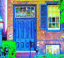 Toronto Life-Mackenzie House Museum-Available As Art Prints-Mugs,Cases,Duvets,T Shirts,Stickers,etc by Robert Burns