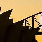 Sydney Silhouette by Paul O'Connell