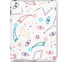 Let's discover the Universe! Adventure time doodle space background iPad Case/Skin