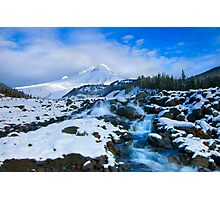 Mt. Hood Morning Photographic Print