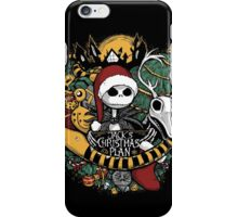 Jack's Christmas Plan iPhone Case/Skin