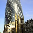 The Gherkin by karenlynda