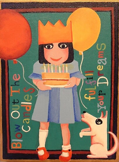 Birthday Girl by Anni Morris