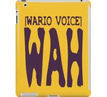 Wario Voice Shirt iPad Case/Skin