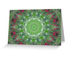 Floral Doily Greeting Card