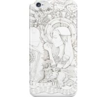 Toasting with Ghosts iPhone Case/Skin