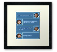 Cory in the House nintendo DS Framed Print