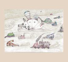 Gnome SteamPunk Caravan T-Shirt