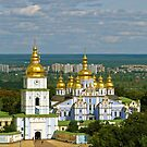 Golden Domes of  Kiev by LudaNayvelt