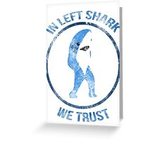 Left Shark - Superbowl 2015 Greeting Card