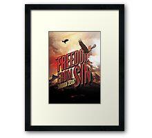 Freedom form Sin Framed Print