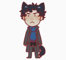 Benedict Cumberbatch cats sticker - Sherlock Holmes by Zasha Latief