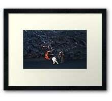 In Search of Madame Pele 2 Framed Print