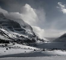 Athabasca Glacier by Paul Tupman