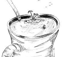 Coffee Cup - Desert Island by zinterink