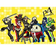 Persona 4 TWEWY style Photographic Print