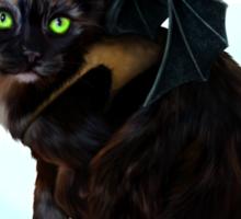 Mewthless, the dragon kitten! Sticker