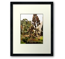 Servents of Decay Framed Print