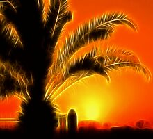 Tropical Sunset by Jo Nijenhuis