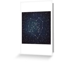 Love Constellation Greeting Card