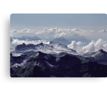 Heavenly view, Bernese Alps Canvas Print