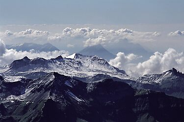 Heavenly view, Bernese Alps by Lenka