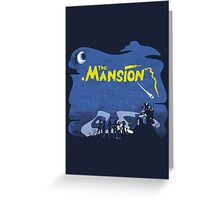The Mansion Distressed Greeting Card