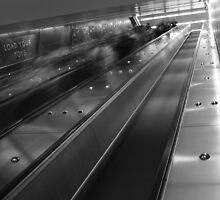 Train Ghosting by David Petranker