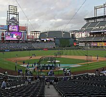 Coors Field Denver, Colorado by Judson Joyce