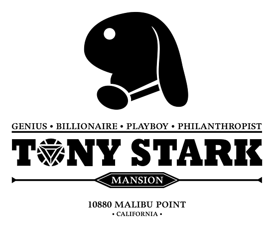 Tony Stark Mansion (Black) by Olipop