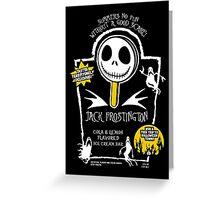 Nightmare Before Summer - Jack Frostington Greeting Card