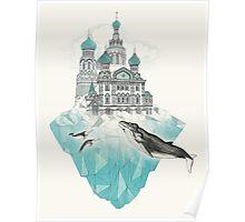 St. Peter's Iceburg Poster