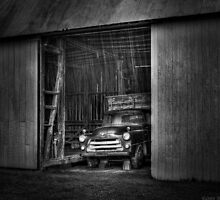 The old truck out back by Mike  Savad