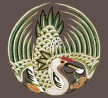 Asian Art Crane by Zehda