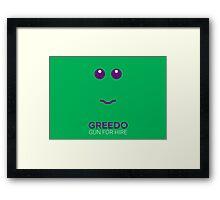 Greedo - Star Wars Framed Print