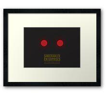Sandcrawler Enterprises - Jawa - Star Wars Framed Print