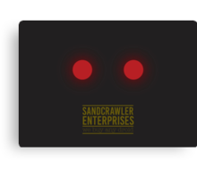 Sandcrawler Enterprises - Jawa - Star Wars Canvas Print