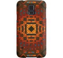 Square Sun - 2 (Warm) Samsung Galaxy Case/Skin