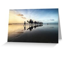 Leading Them Home Greeting Card