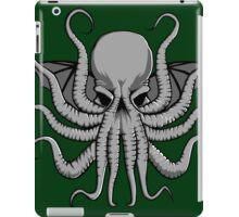 Grey Chtulhu iPad Case/Skin