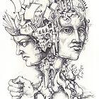 Roman God Janus by Jedika