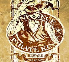 Wanted Pirate King by AlexKramer