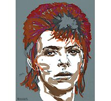 Bowie As Ziggy Photographic Print