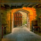 Large door 2 - Montsalvat by Hans Kawitzki